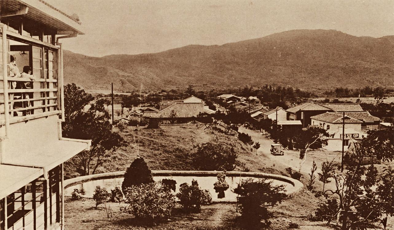 日本時代四重溪溫泉