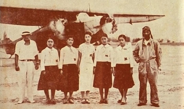 1934.7.27台北飛行
