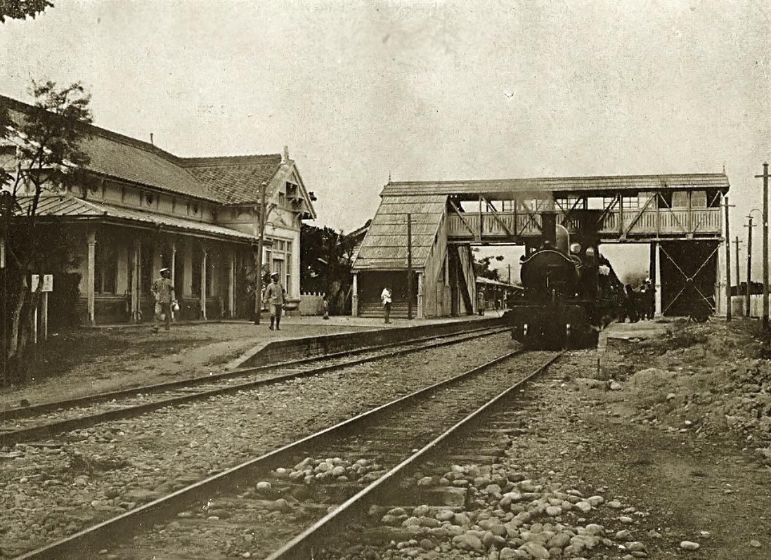 1920年代台中火車站