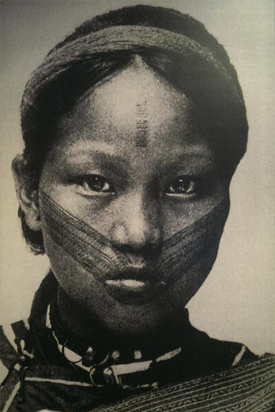 1906泰雅族女子