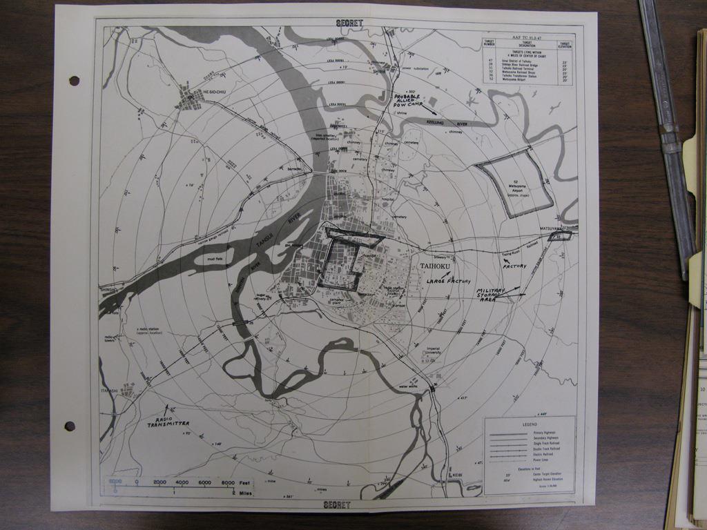 1944年底美軍對台毒氣攻擊計畫
