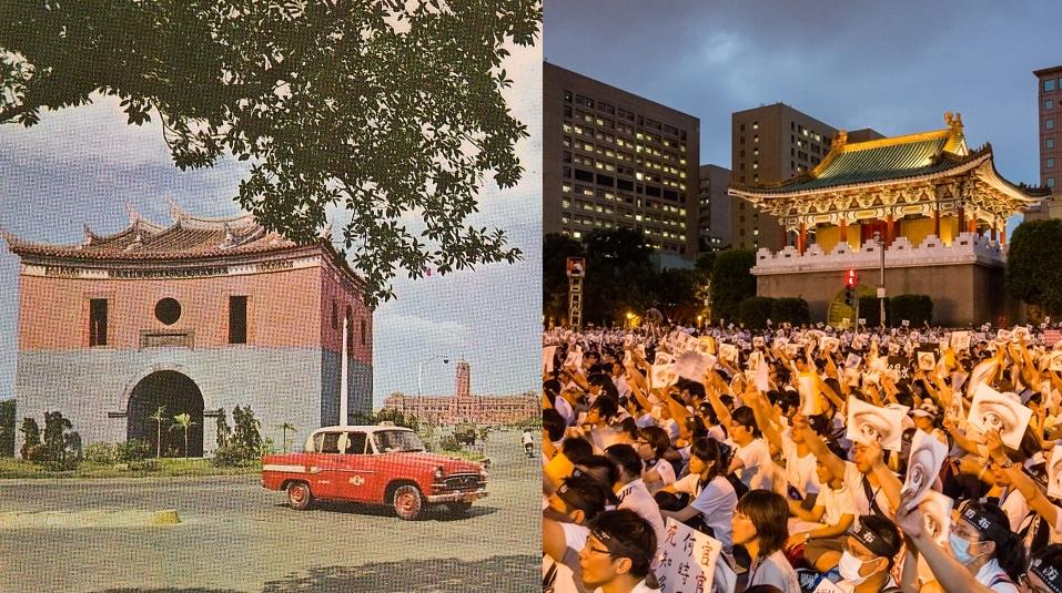 台北東門(景福門)今昔