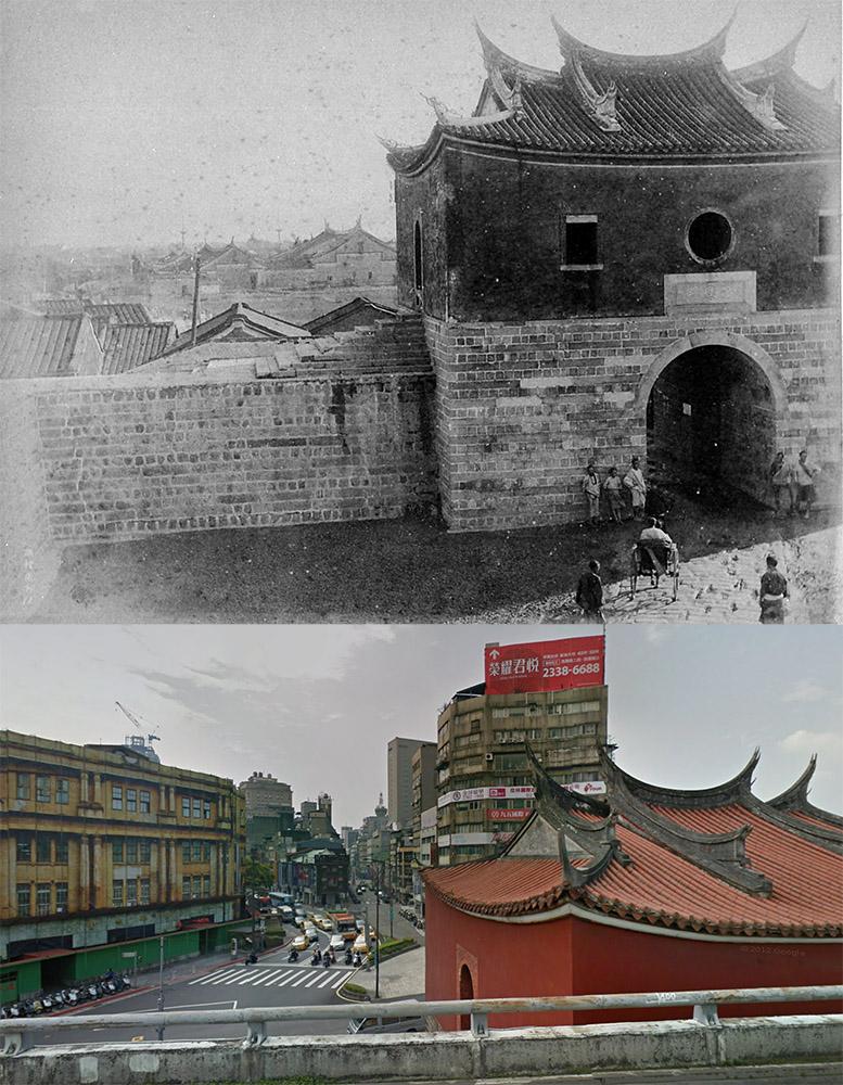 台北城北門今昔