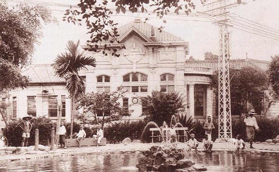 嘉義第一代郵便局