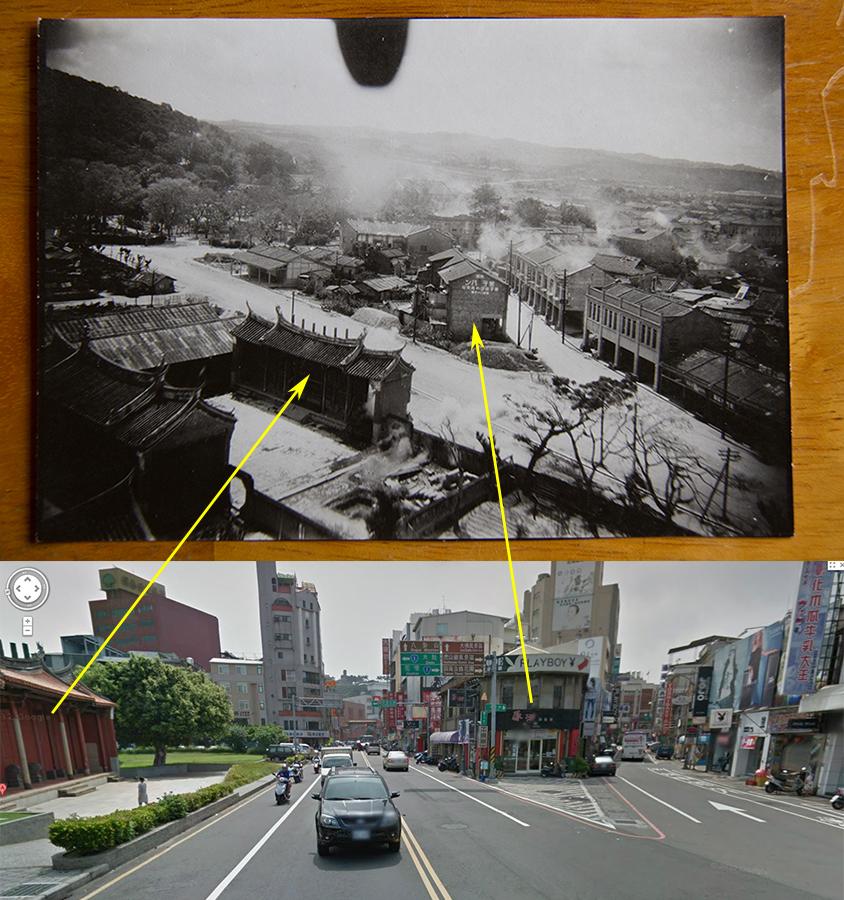 美軍轟炸彰化市區