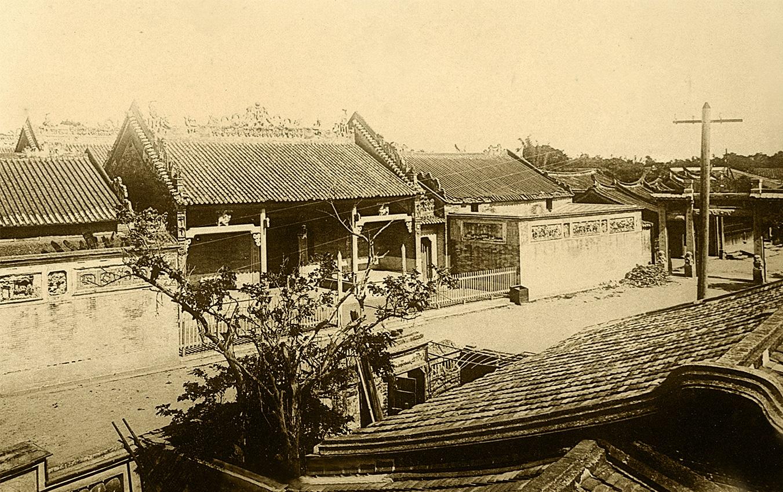 約1900臺南兩廣會館老照片