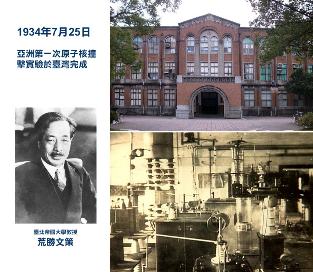 亞洲第一次原子核撞擊實驗於臺灣完成