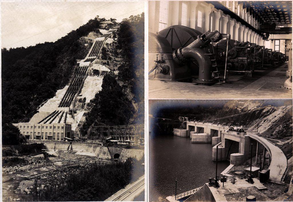 1934/6/3 日月潭水力發電廠工事完成