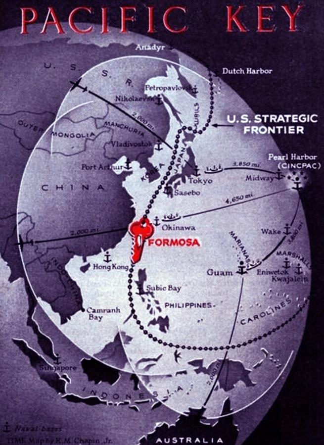 1950 太平洋之鑰 – 臺灣