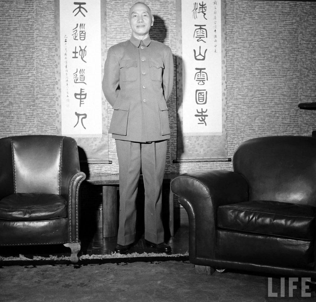 1949.1.21 蔣介石下野,李宗仁代理